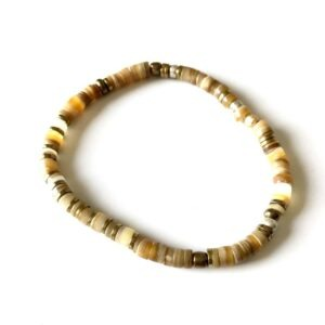 bracelet puka joy shell