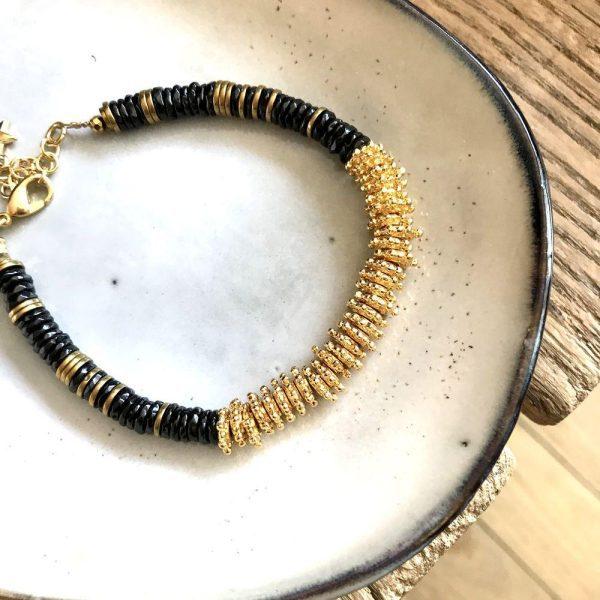 bracelet puka or spinelle