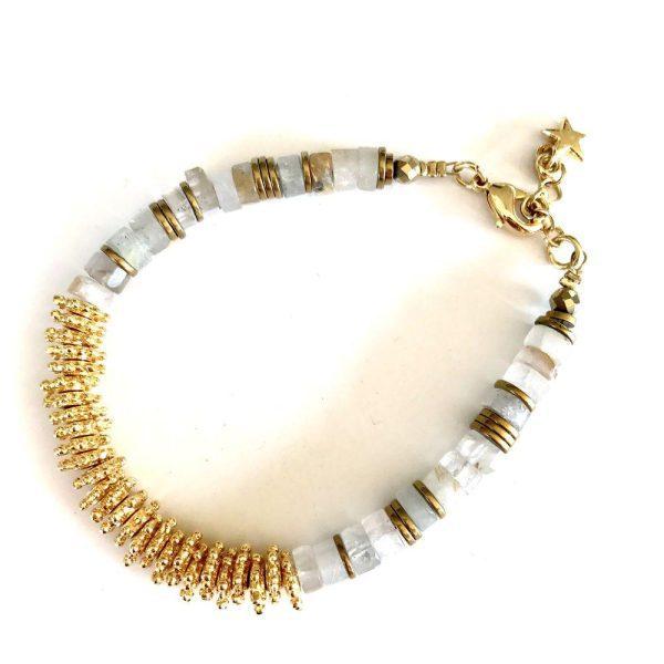bracelet puka or rutile