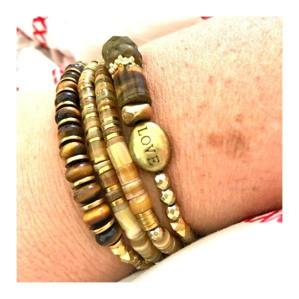 bracelet gaia oeil de tigre
