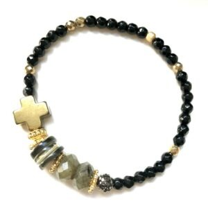 bracelet cruz spinelle