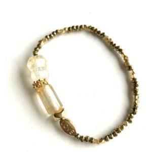 bracelet gaia citrine