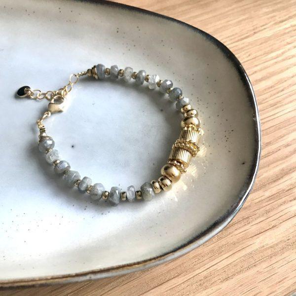 bracelet eden or labradorite