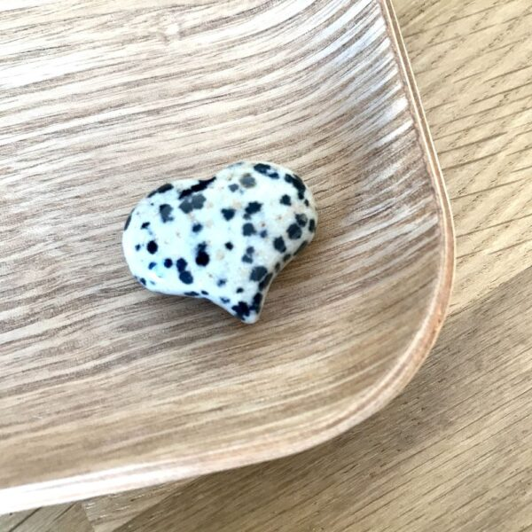coeur jaspe dalmatien