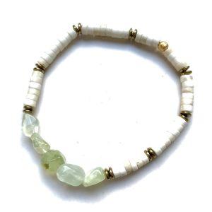 bracelet puka phrenite