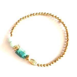 bracelet gaia turquoise