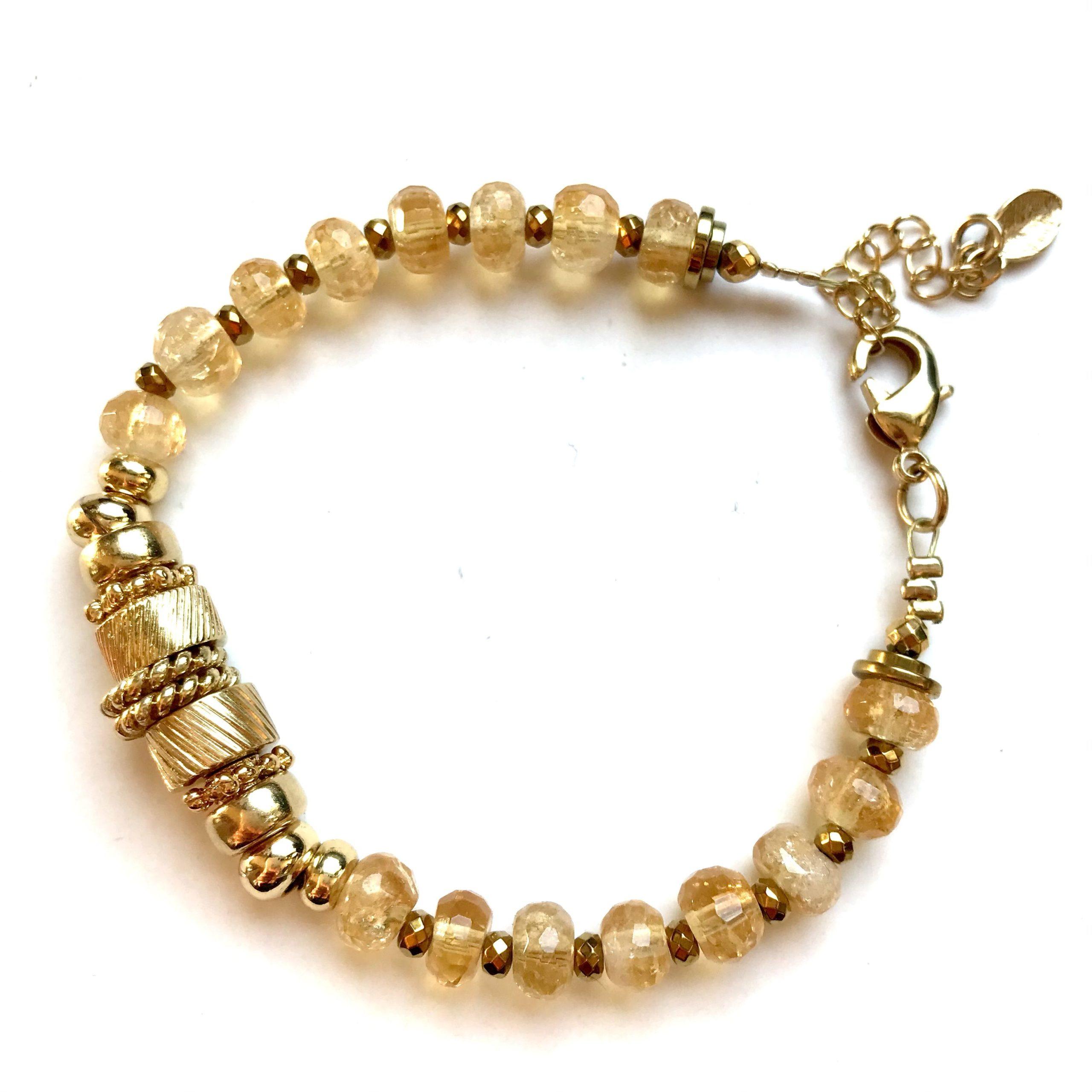 bracelet eden or citrine