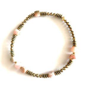 bracelet nemesis opale rose
