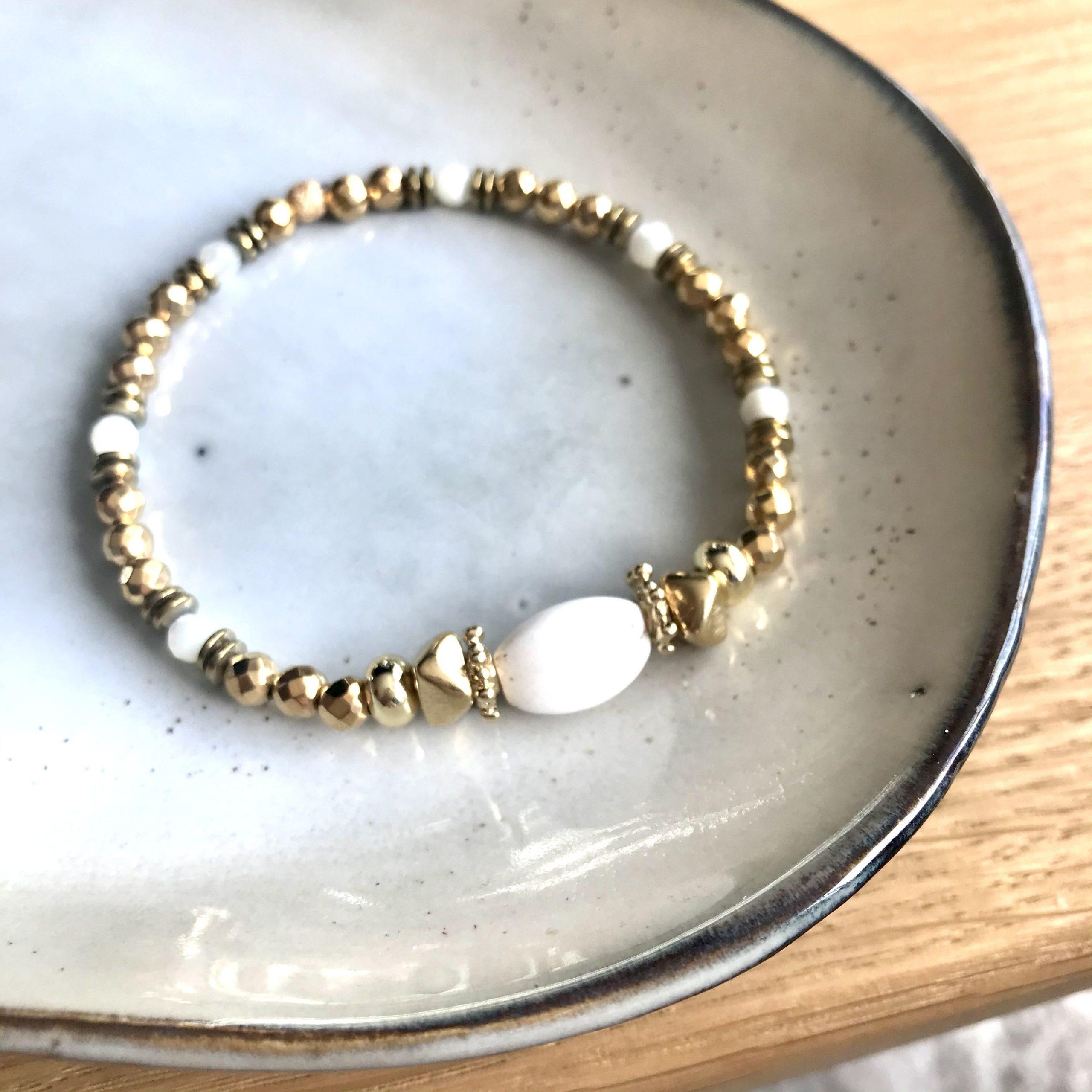 bracelet Horus howlite