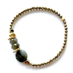 bracelet gaia labradorite