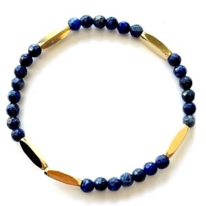 bracelet pure lapis lazuli