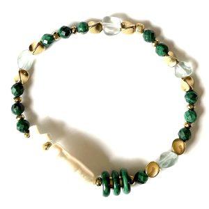 bracelet NILAI malachite